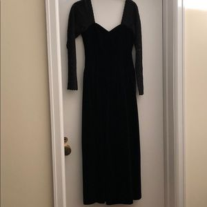 Laura Ashley Vintage Velvet dress Size 8